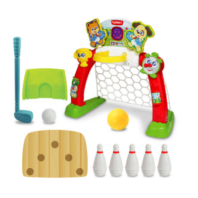 4 In 1 Sports Center 7-pc. Interactive Toy - Unisex