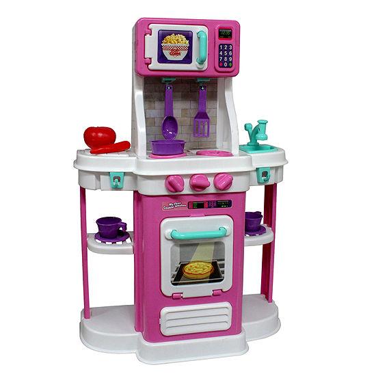 Cookin Kitchen 18-pc. Play Kitchen