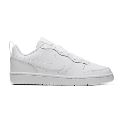Dipendenza Facile Vulcano  Nike Nk Court Borough Low 2 (Gs) Big Kids Boys Running Shoes, Color: White  White - JCPenney