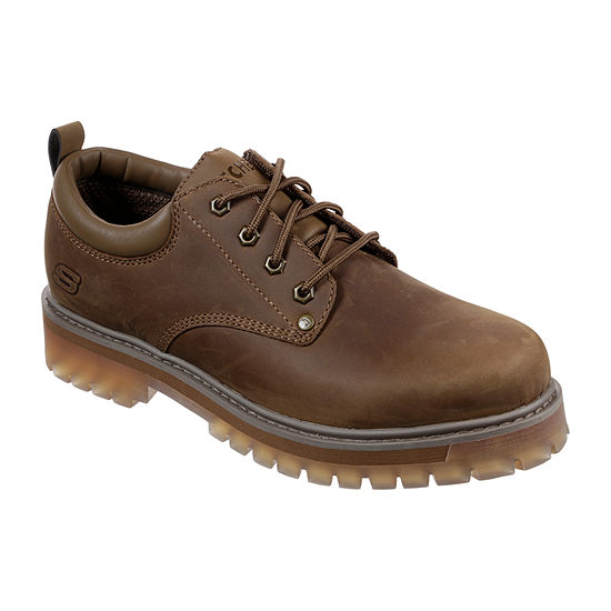 Skechers Mens Mesago Oxford Shoes Closed Toe