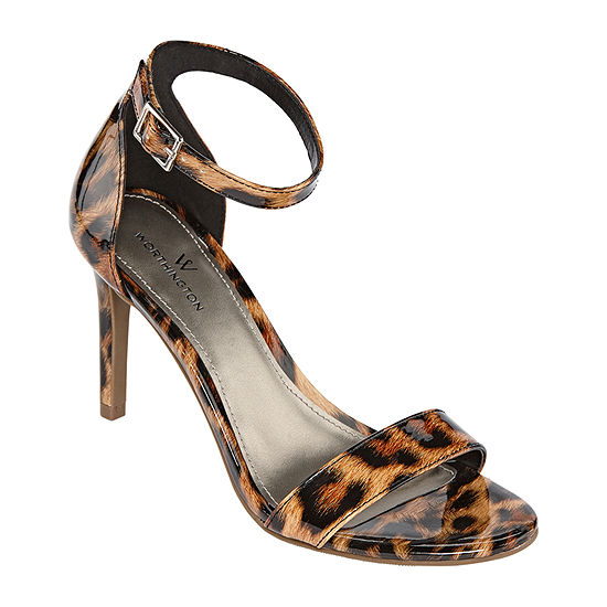 Worthington Womens Bristol Heeled Sandals