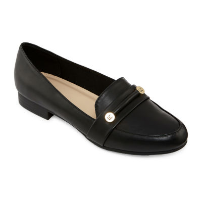 Liz Claiborne Womens Trish Closed Toe Slip-On Shoe