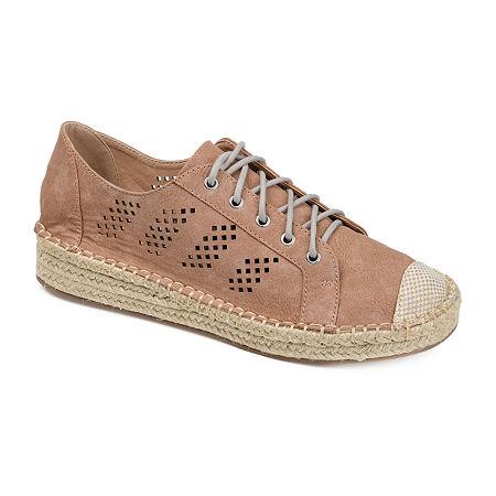 Journee Collection Womens Razili Slip-On Shoe, 6 1/2 Medium, Pink