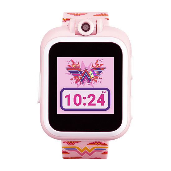 Itouch Playzoom Wonder Woman Girls Pink Smart Watch-13885m-18-Pnp