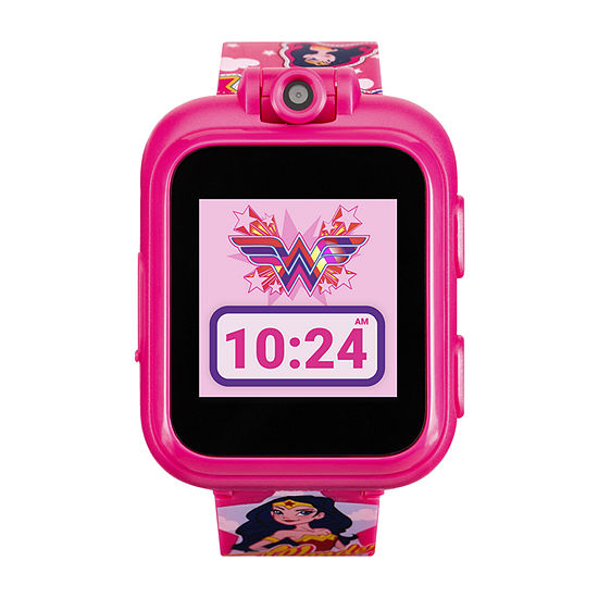 Itouch Playzoom Wonder Woman Girls Pink Smart Watch-13886m-18-Fpr