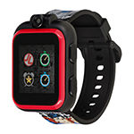 Itouch Playzoom Justice League Boys Black Smart Watch-50098m-18-Blt