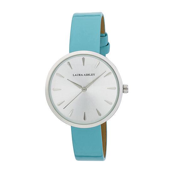 Laura Ashley Womens Blue Bracelet Watch - La31087lb