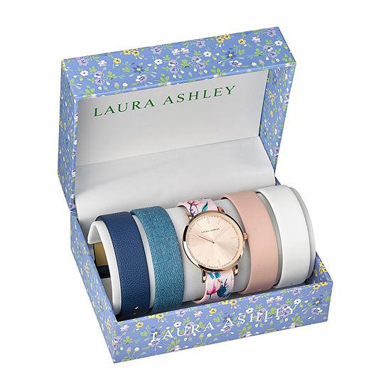 Laura Ashley Womens Pink Bracelet Watch - Lass1102rg