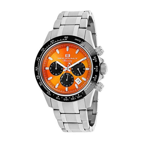 Oceanaut Mens Silver Tone Stainless Steel Bracelet Watch-Oc6120
