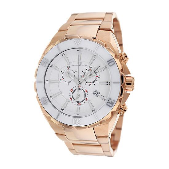 Oceanaut Mens Rose Goldtone Stainless Steel Bracelet Watch-Oc5127