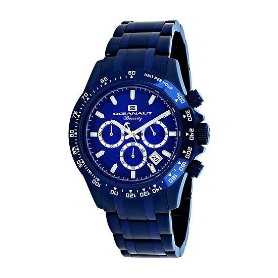 Oceanaut Mens Blue Stainless Steel Bracelet Watch-Oc6117