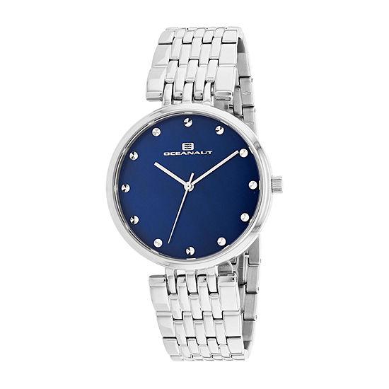 Oceanaut Womens Silver Tone Stainless Steel Bracelet Watch-Oc2201