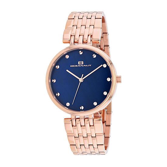 Oceanaut Womens Rose Goldtone Stainless Steel Bracelet Watch - Oc2204