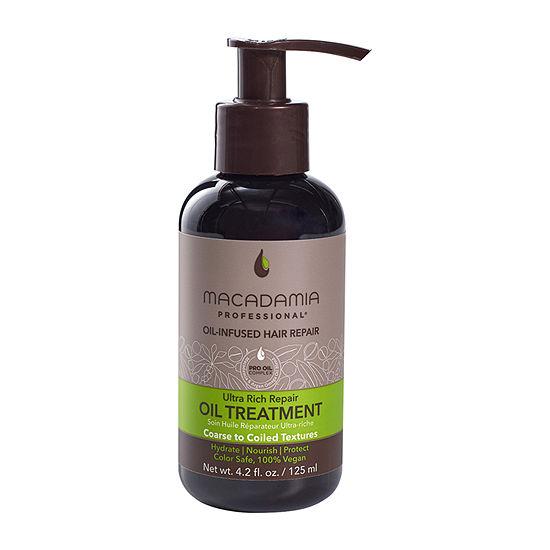 Macadamia Professional Ultra Rich Moisture Oil Treatment Hair Oil - 4.2 oz.