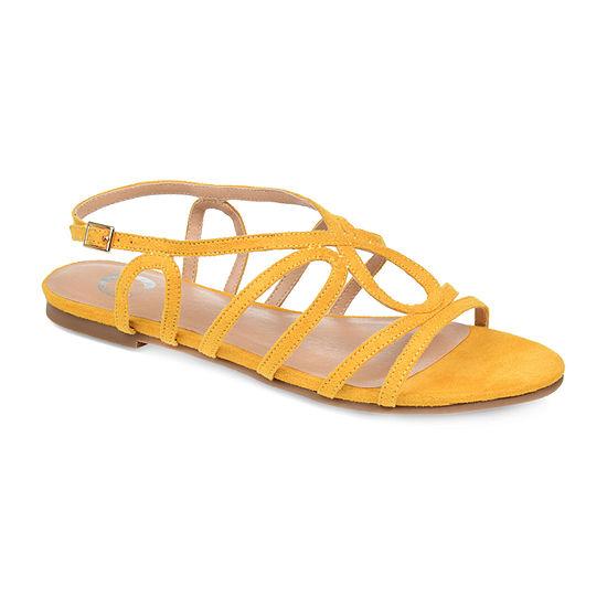 Journee Collection Womens Honey Pumps Open Toe Block Heel