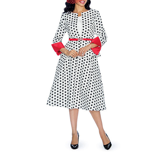 Giovanna Collection Skirt Suit-Plus