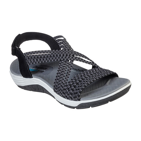 Skechers Womens Reggae Cup - Oh   Snap Strap Sandals