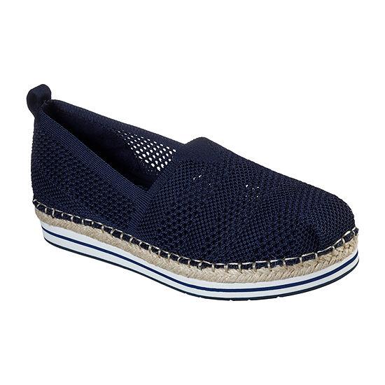 Skechers Bobs Womens Breeze - Bird Song Slip-On Shoe Closed Toe