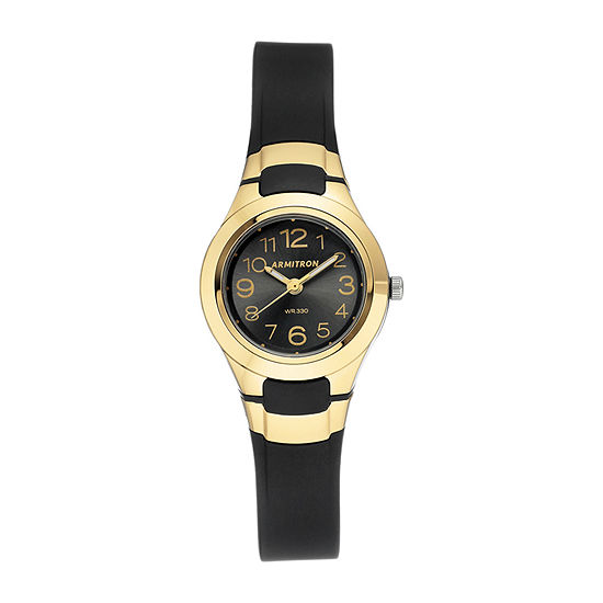Armitron Pro Sport Womens Black Strap Watch-25/6418gbk