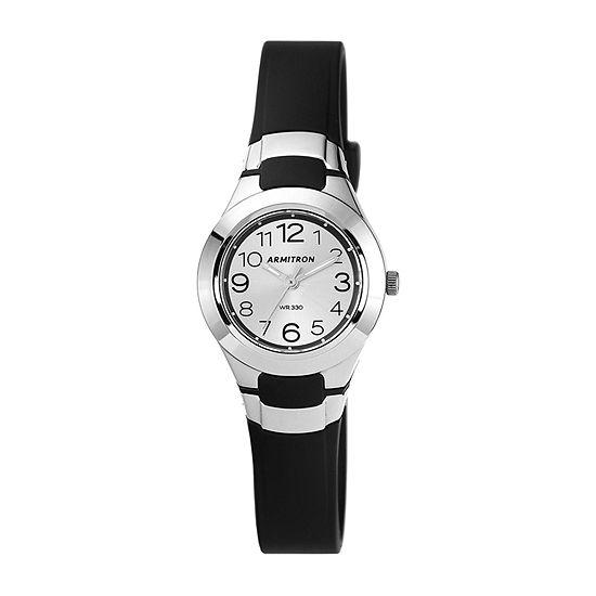 Armitron Pro Sport Unisex Adult Black Strap Watch-25/6418blk