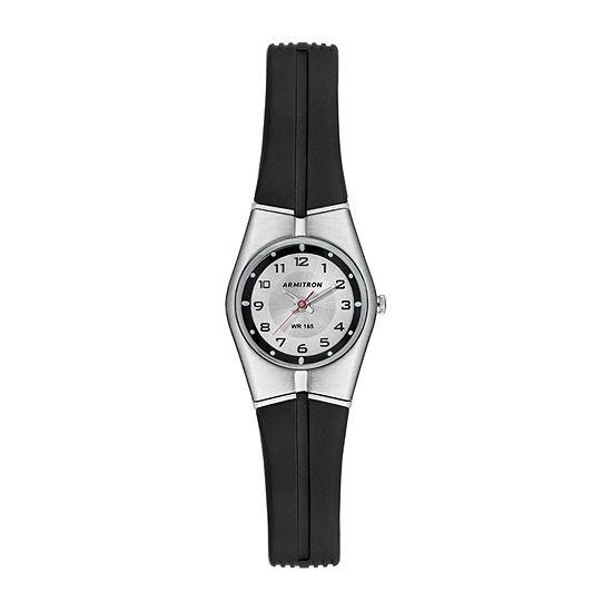 Armitron Pro Sport Mens Black Strap Watch-25/6355slkt