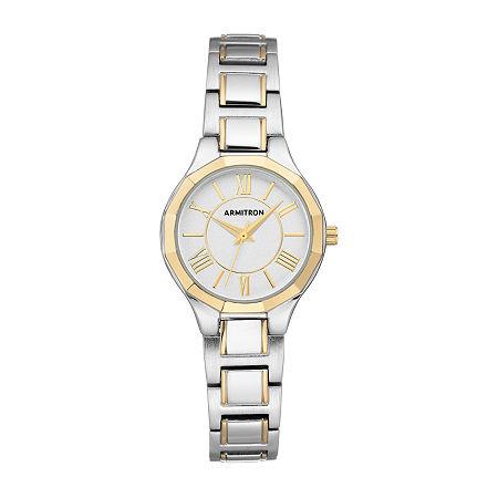 Armitron Womens Two Tone Bracelet Watch - 75/5605svtt, One Size
