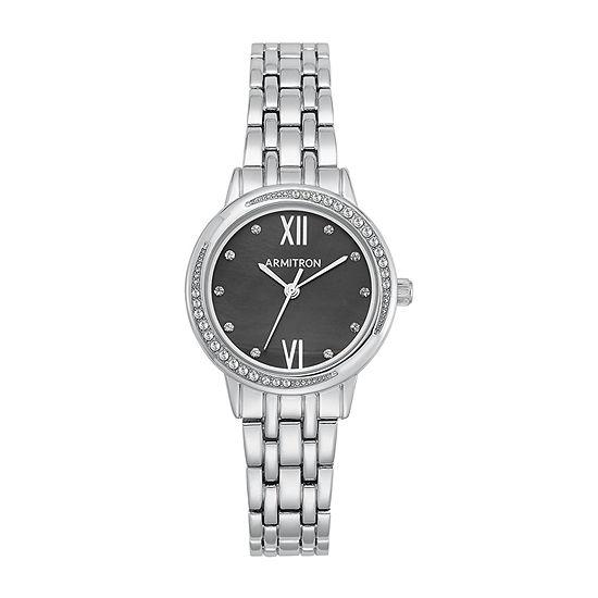 Armitron Womens Silver Tone Bracelet Watch-75/5516jmsv