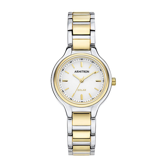 Armitron Womens Two Tone Bracelet Watch-75/5625wttt