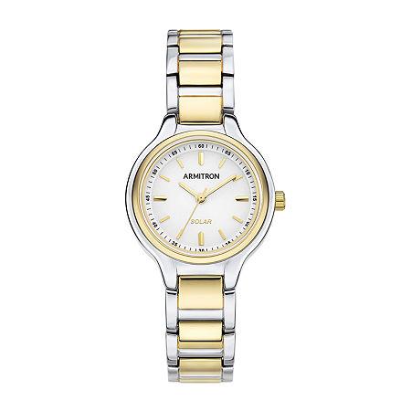 Armitron Womens Two Tone Bracelet Watch-75/5625wttt, One Size