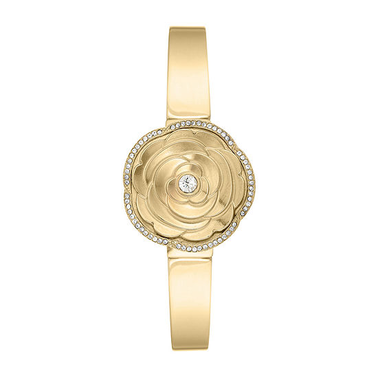 Armitron Womens Gold Tone Bracelet Watch-75/5682mpgp