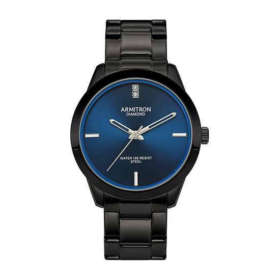 Armitron Mens Black Bracelet Watch-20/5409nvti