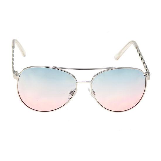 a.n.a Metal Aviator Womens Sunglasses