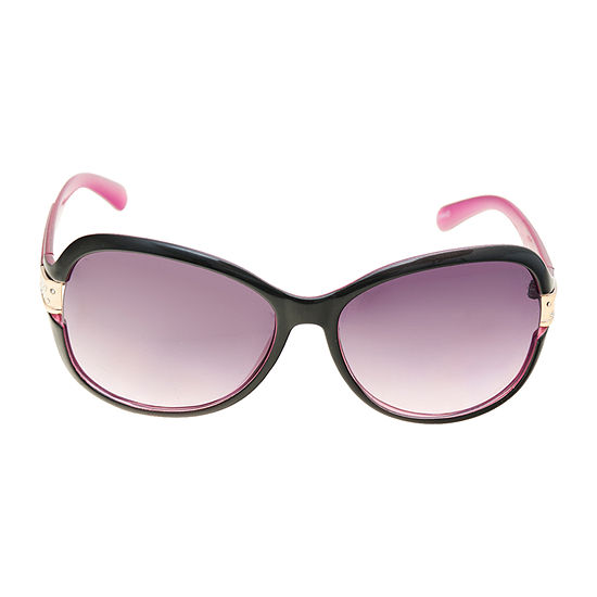 a.n.a Oversized Rectangle With Metal Temples Womens Sunglasses