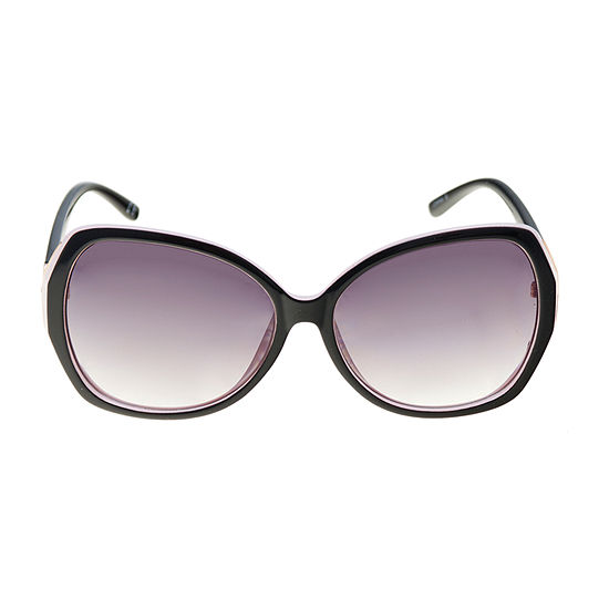 a.n.a Oversized Beveled Square Womens Sunglasses