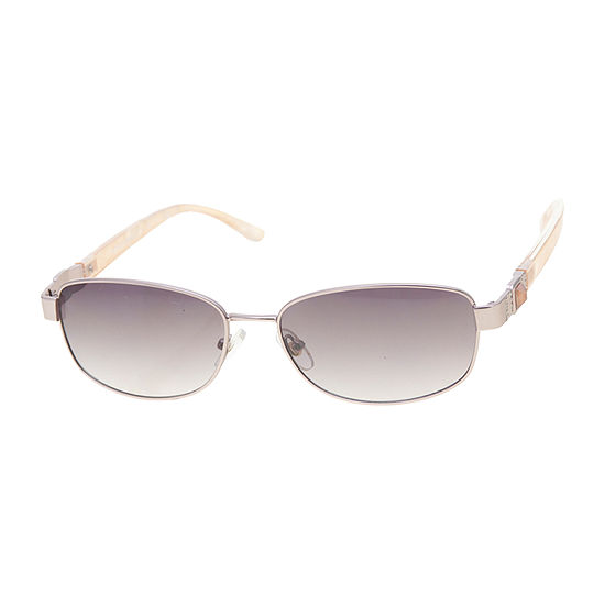 a.n.a Small Rectangle With Embellished Stone Temple Womens Sunglasses