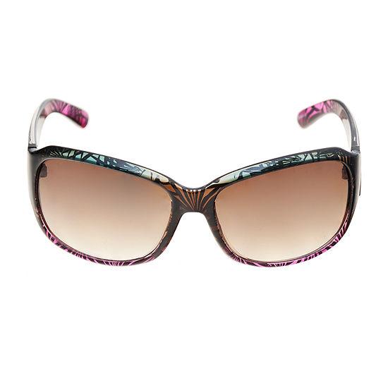 a.n.a Tropical Large Rectangle Womens Sunglasses
