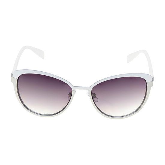 a.n.a Metal Cateye Womens Sunglasses