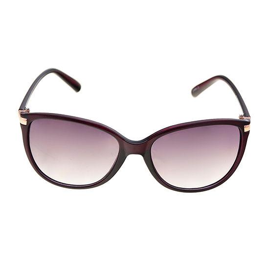 a.n.a Crystal Plum Cateye Womens Sunglasses