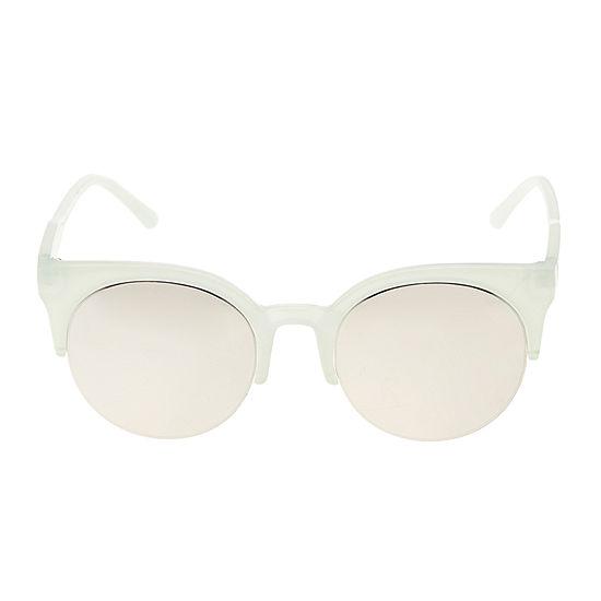 Arizona Semi Rimless Round Womens Sunglasses