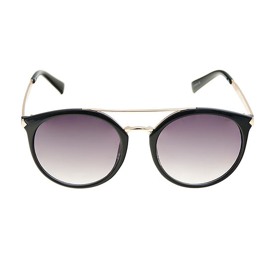 Mixit Round Top Bar Womens Sunglasses