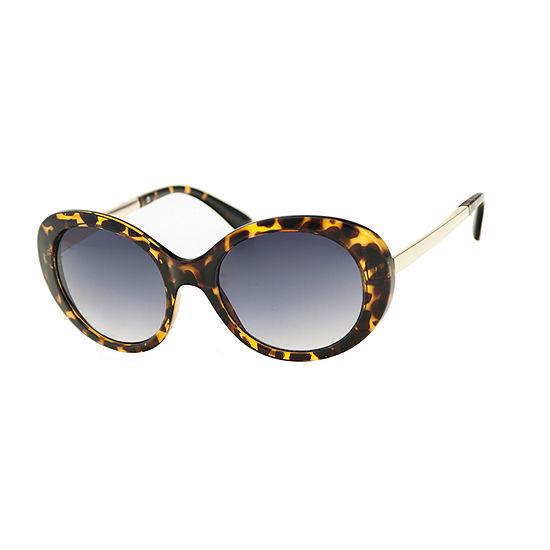 Mixit Plastic Oval Womens Sunglasses