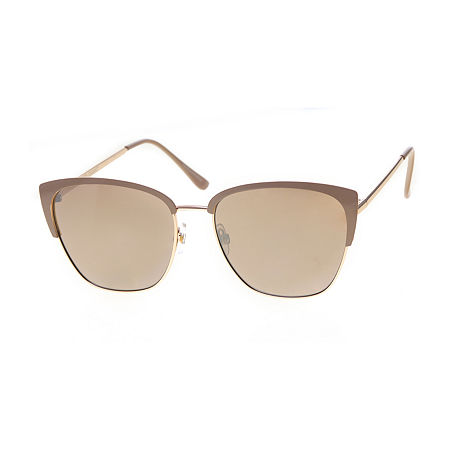 Features: Non-Polarized, Uv ProtectionShape: SquareBase Material: 100% MetalCare: Wipe CleanCountry of Origin: Imported