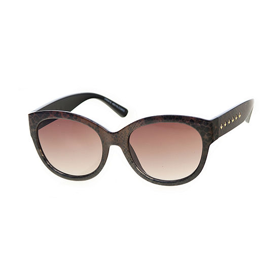 Worthington Round With Stud Temples Womens Sunglasses