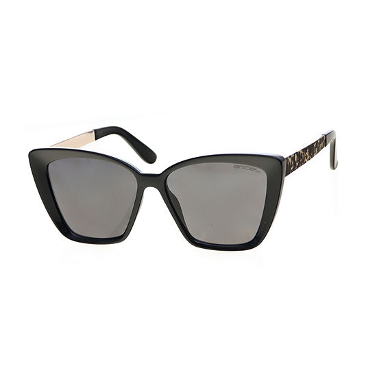 Worthington Square Cateye With Metal Temple Womens Sunglasses