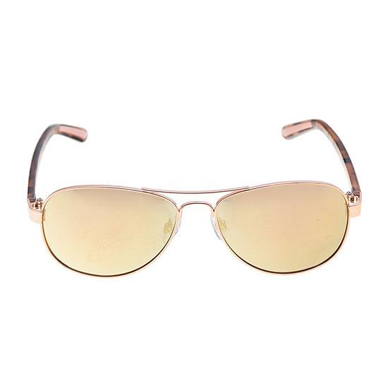 Xersion Metal Aviator Womens Sunglasses