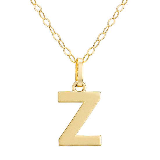 Girls 14K Gold Pendant Necklace