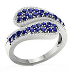 Womens 1/5 CT. T.W. Genuine Blue Sapphire 10K Gold Cocktail Ring
