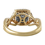 Modern Bride Signature Womens 5/8 CT. T.W. Genuine White Diamond 14K Gold Engagement Ring