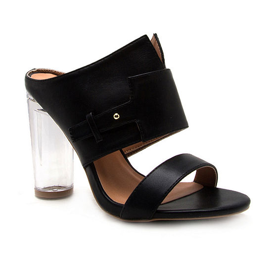 Qupid Womens Gilmore-07 Heeled Sandals