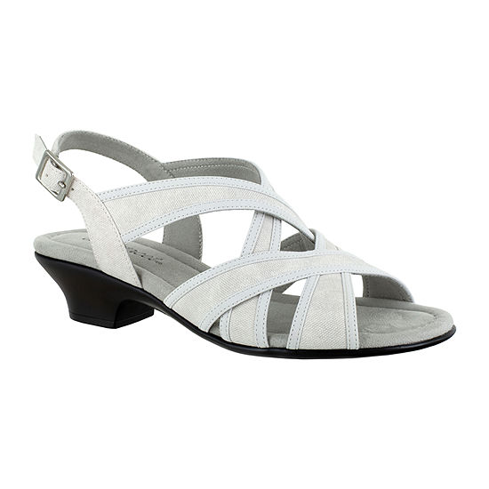 Easy Street Womens Viola Heeled Sandals